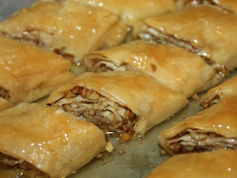 Strifto – Easy, Rolled Baklava