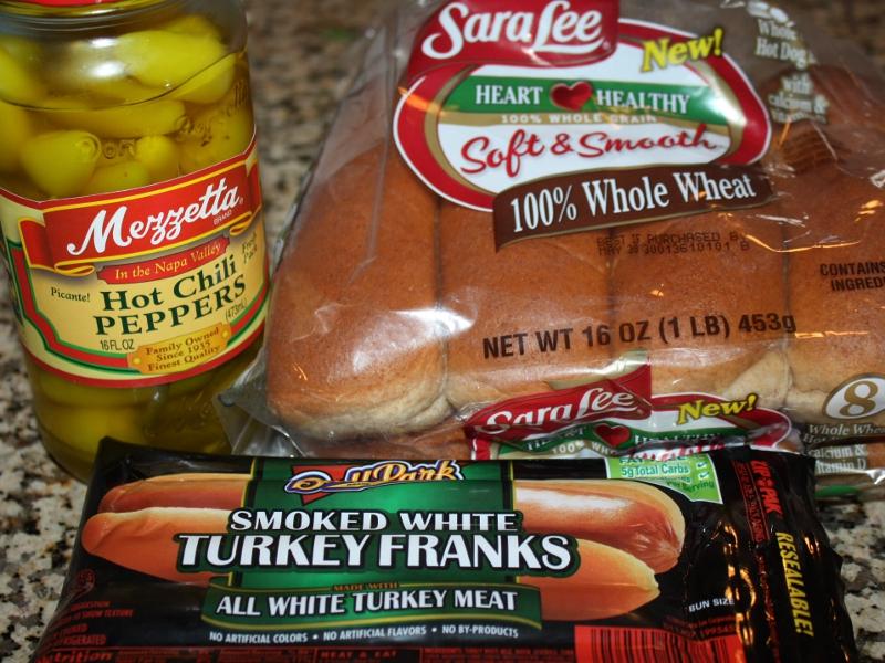 Cal Turkey Hot Dog And White Bun