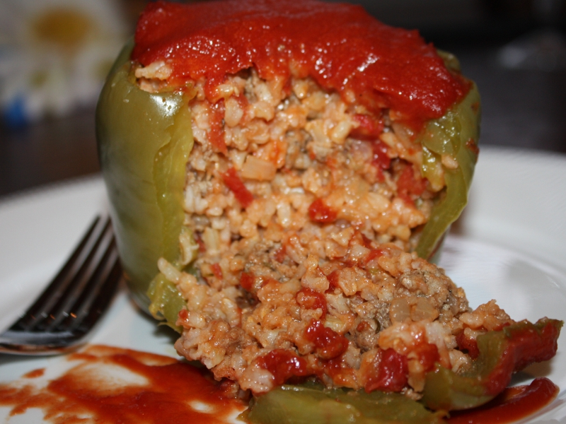 Stuffed Green Peppers Recipes — Dishmaps