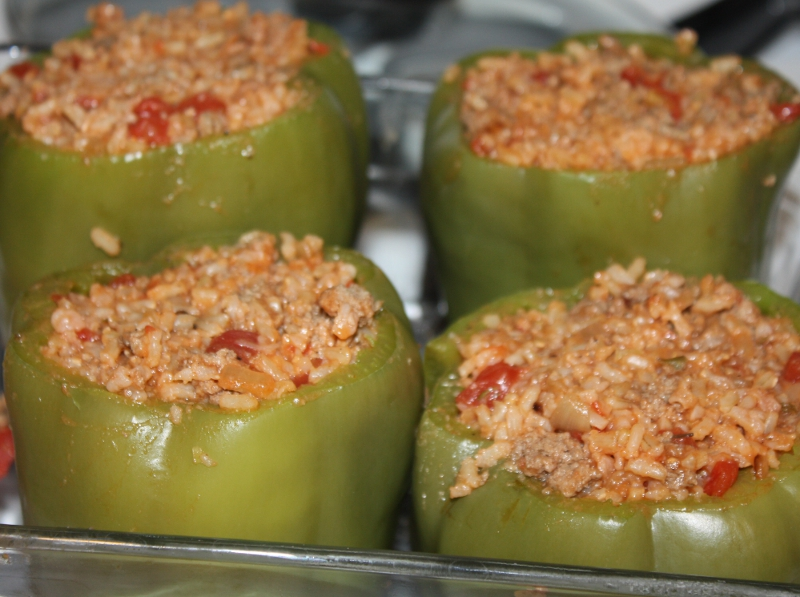 stuffed green bell pepper stuffed green peppers stuffed green peppers ...