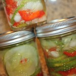 Refrigerator pickles finish