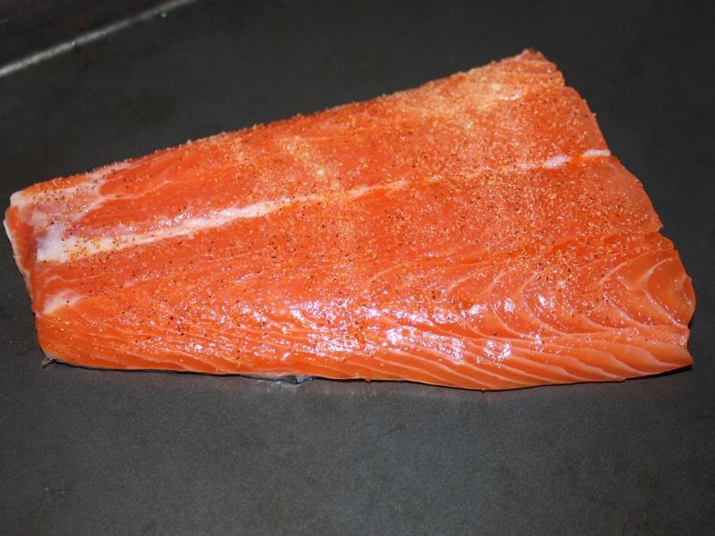 Salmon Tostadas