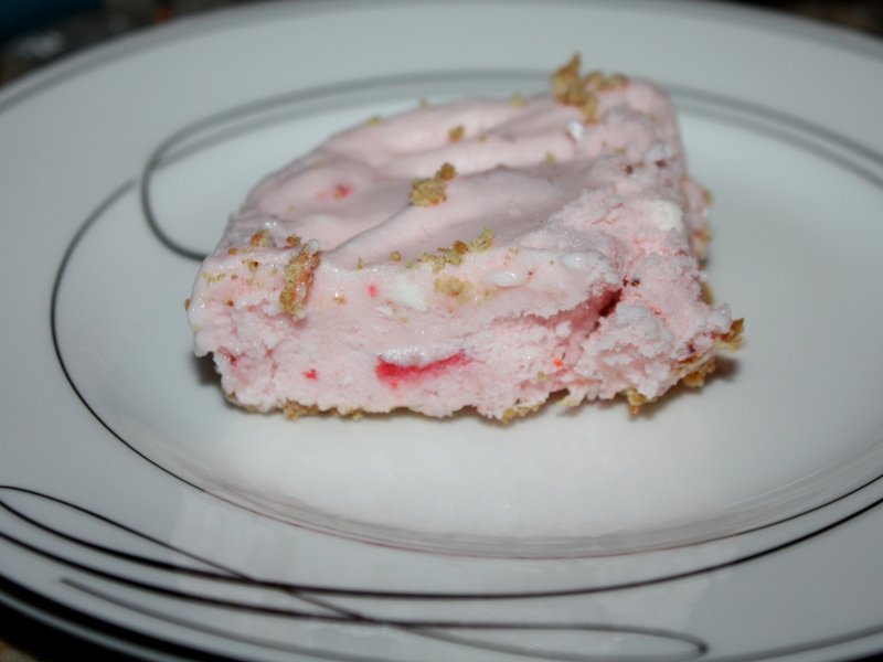 Strawberry cheesecake finish 1
