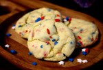 4th of July cookies finish
