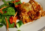 Easy Overnight Vegetarian Lasagna