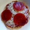 Pizza english muffin