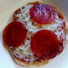 Pizza english muffin