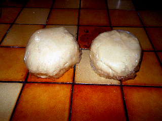 short bread dough