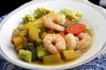 Pineapple and Shrimp Stir- Fry