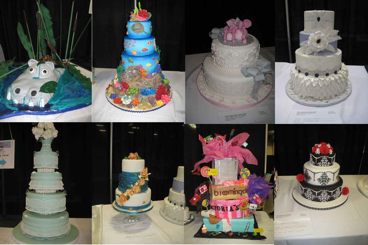 Cake Design Competition Show : That Takes the Cake Sugar Art Show and Cake Competition ...