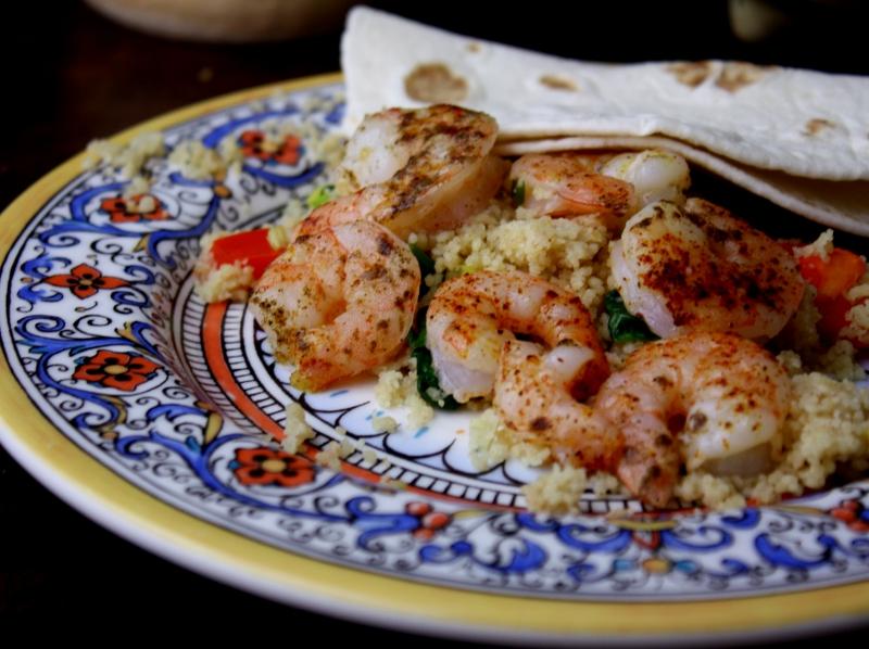 baked shrimp finish !