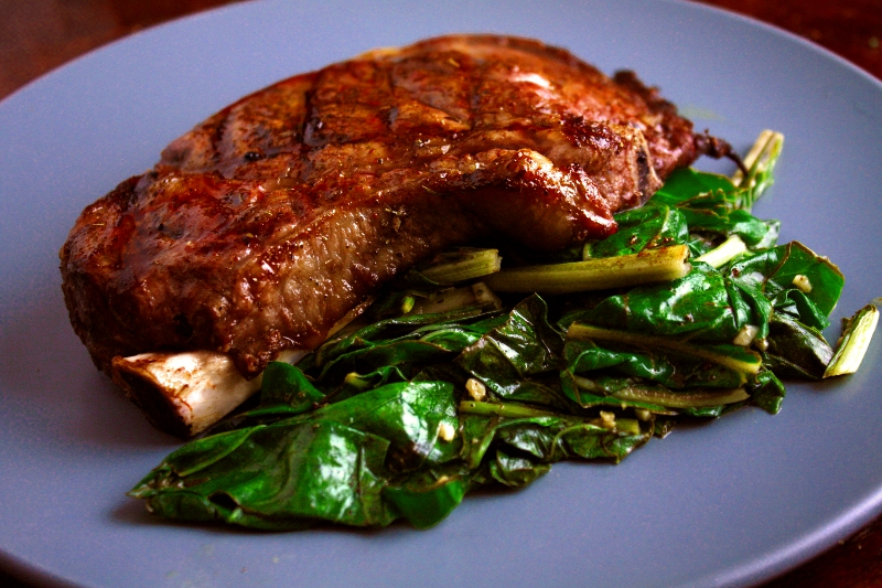 steak and chard 2