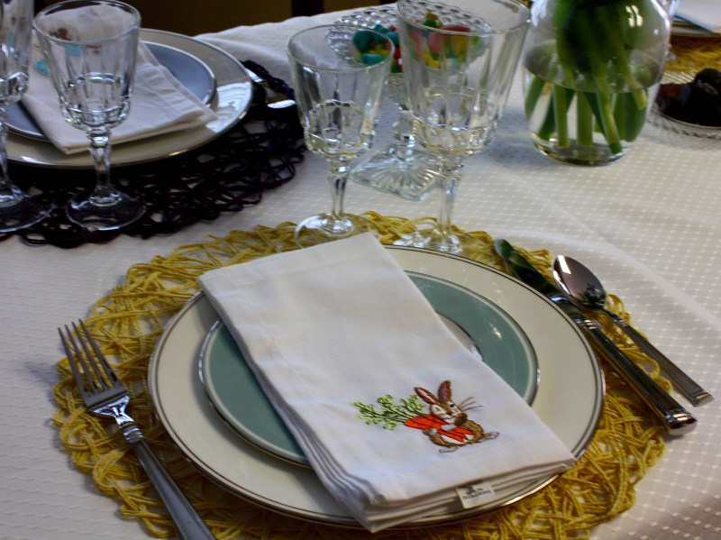 Easter place setting 2