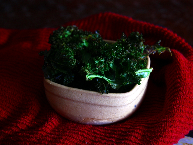 kale chips finish 2