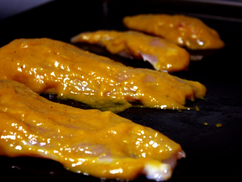 mango chicken prebake