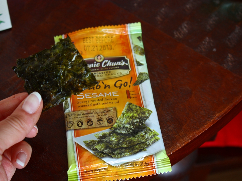 march foodie pel pan seaweed