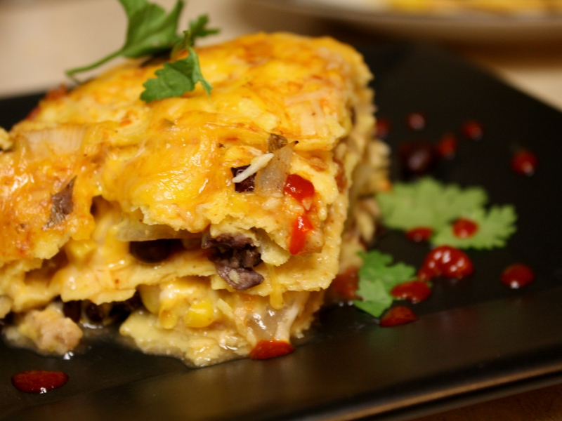Tex mex lasagna finish 4