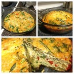 Chorizo and Spinach Egg Casserole