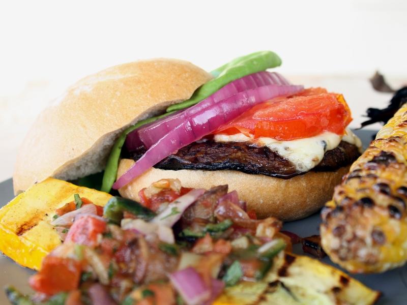 portobello burger 1