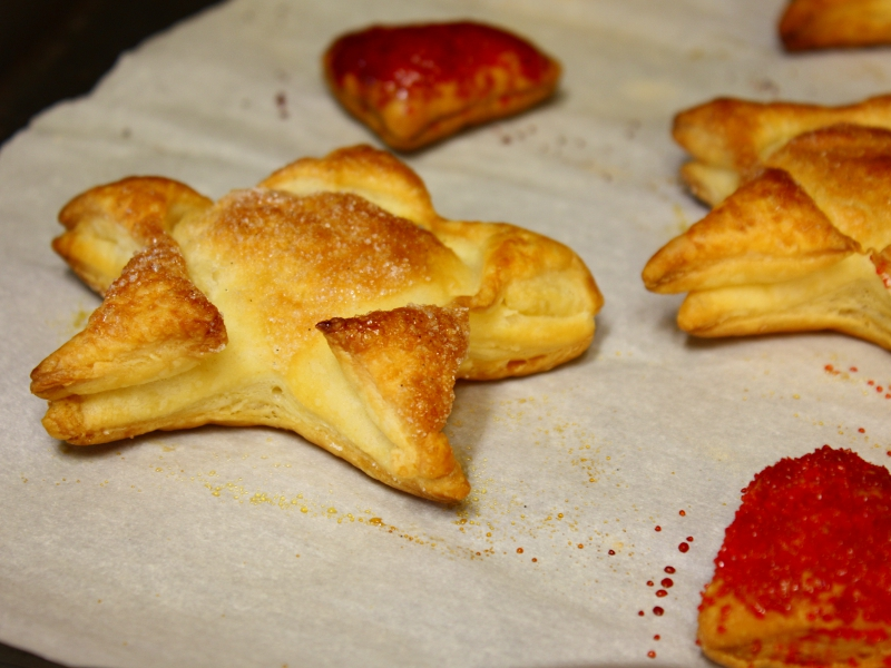puff pastry baked