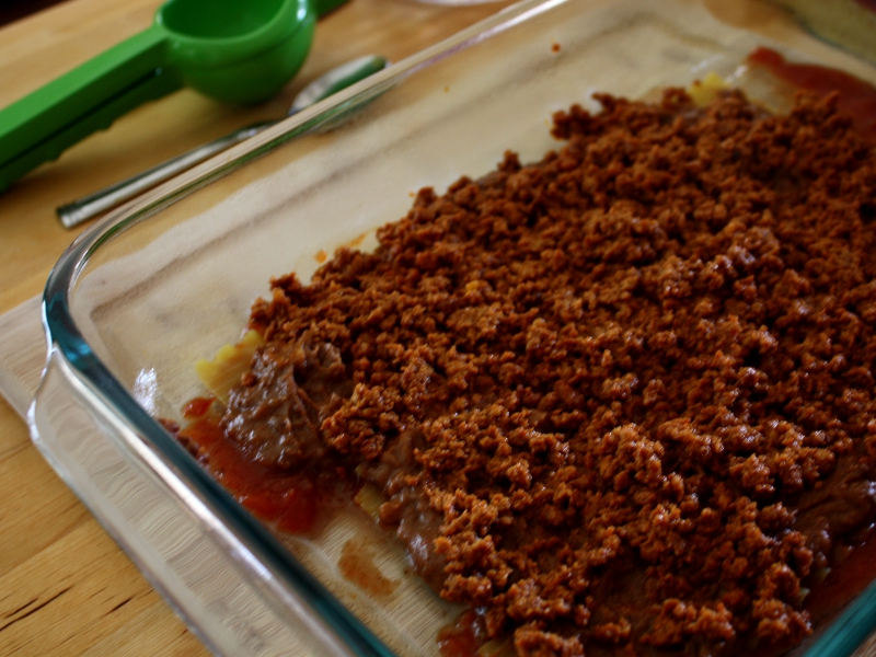 mexican lasagna meat