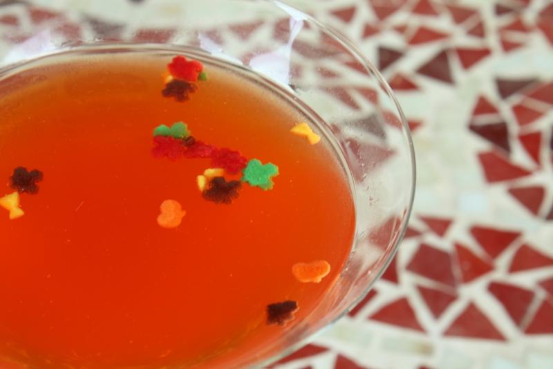 blood orange spicetini