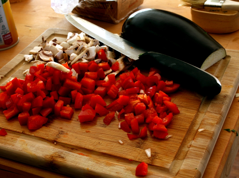 veggie chopped