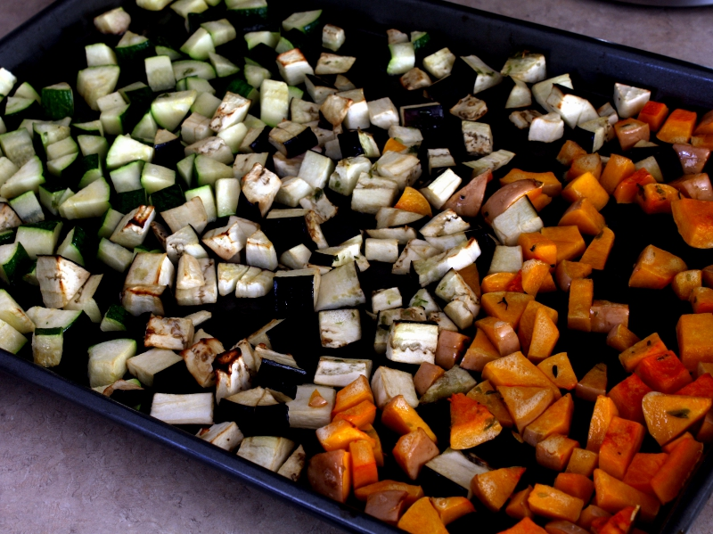 veggies roasted