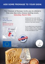 Cheeses of Europe Event #SXSW