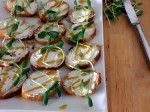 Farmer's Market Goat Cheese Appetizer
