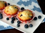 Cheater Blueberry Muffins
