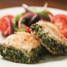 Spinach Feta Pie photo