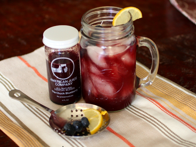 blueberry sweet tea