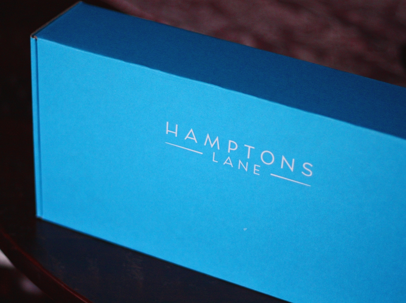 hamptons lane blue box
